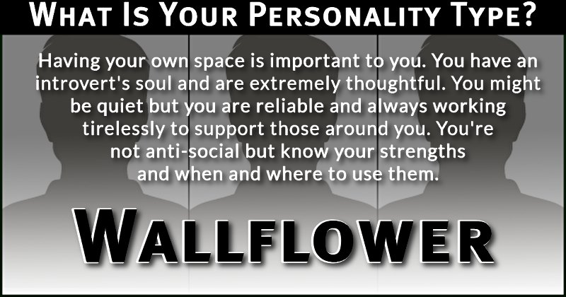 how to tell your personality type