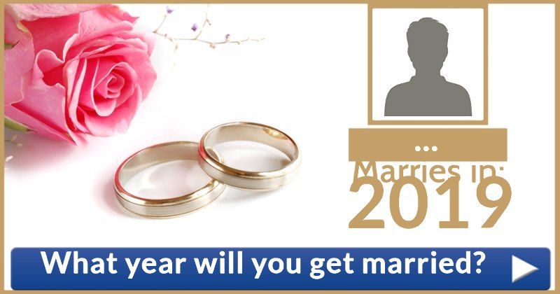 What year will you get married