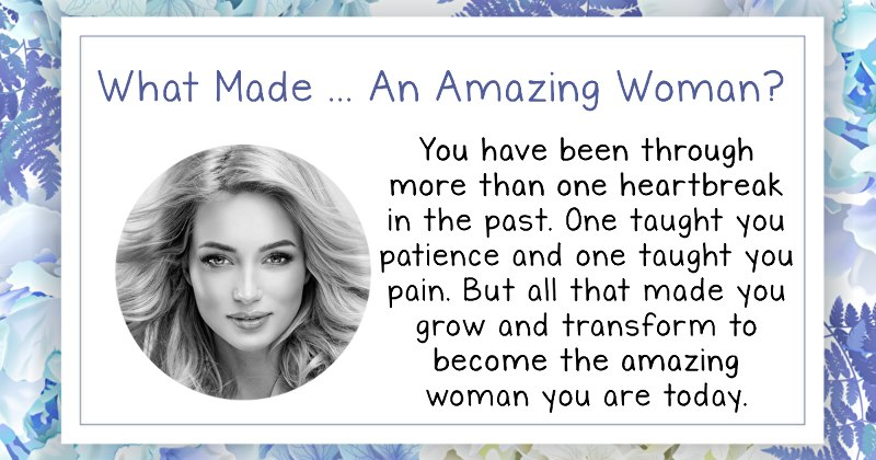 what is an amazing woman