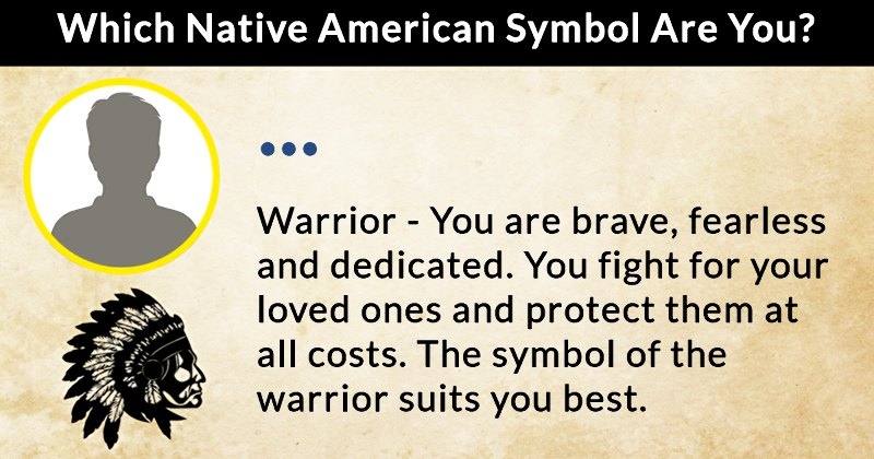 Which Native American Symbol Are You