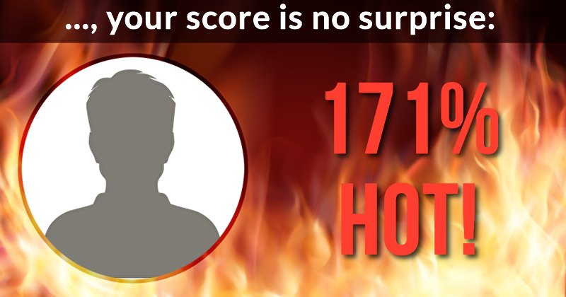 how to see your score on hot or not