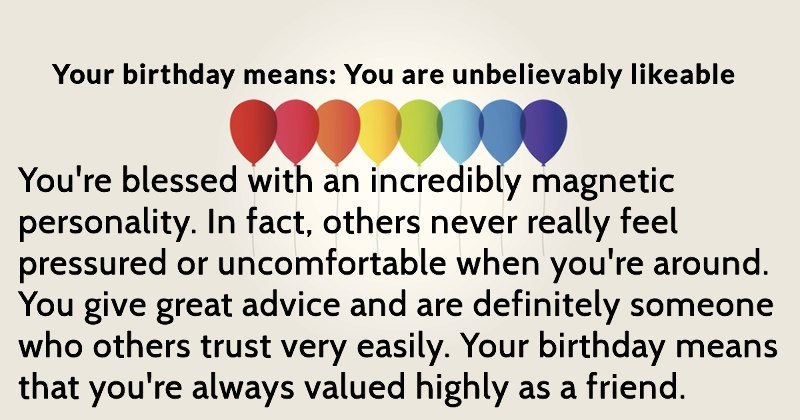you are special meaning