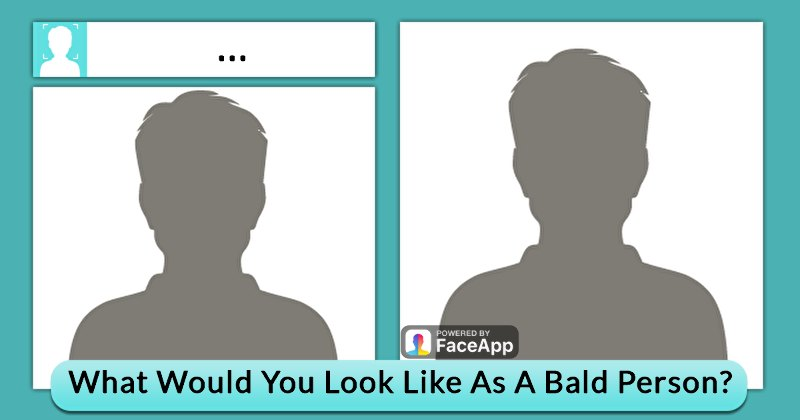 what you look like bald