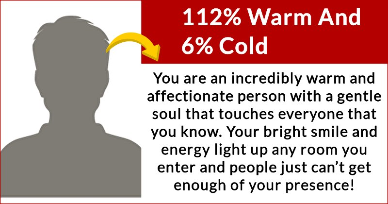 warm hearted person