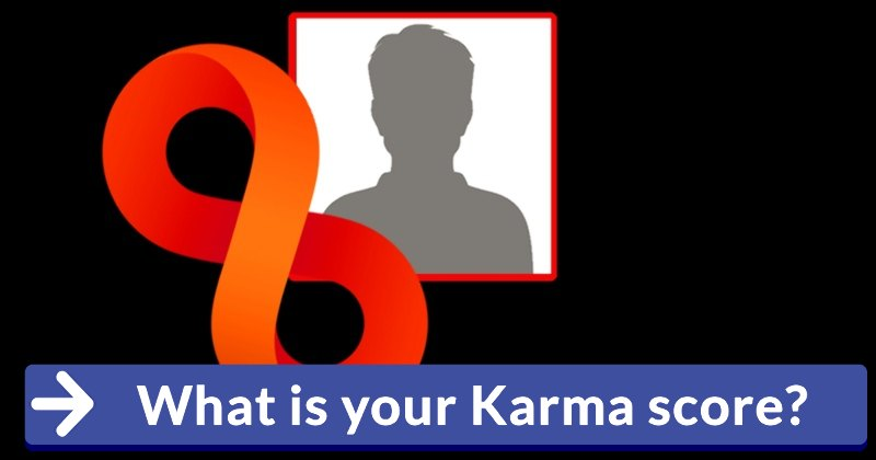 What Is Your Karma Score