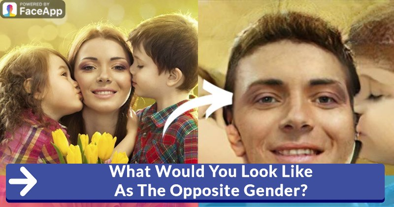 what would you look like as the opposite sex