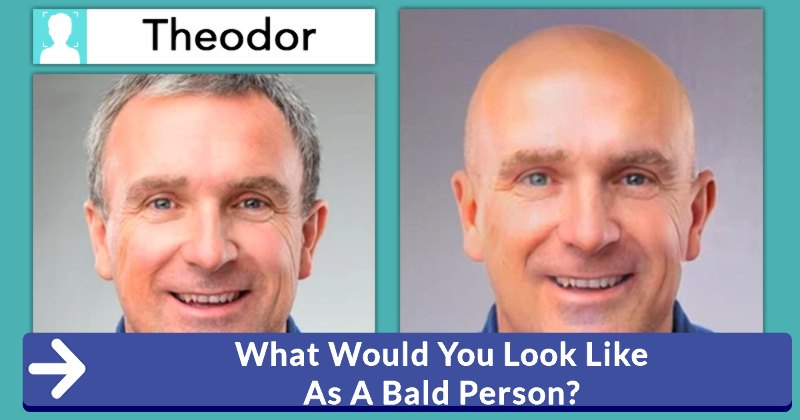 how would you look bald